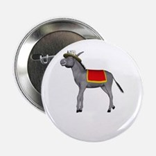 "T0035B-DonkeyToRiver-2000x2000 2.25"" Button"