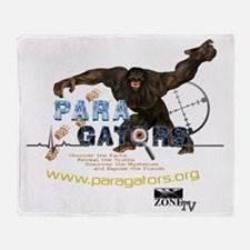 Paragators Bigfoot_1 Throw Blanket