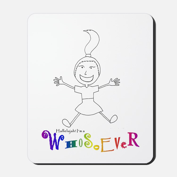 Who3Front Mousepad