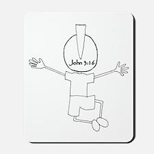Who2Back Mousepad