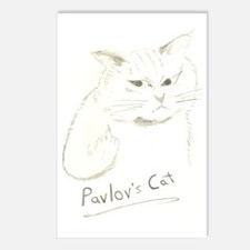 Pavlovs Cat Postcards (Package of 8)