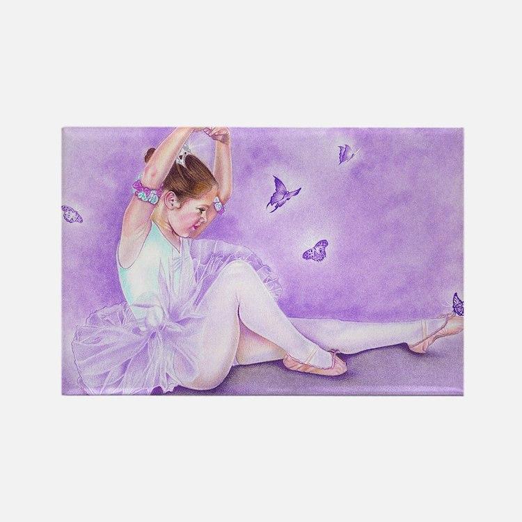 balletdepapillon Rectangle Magnet