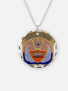 wwilson patch transparent Necklace
