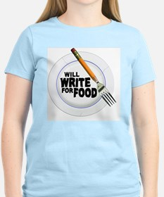 Write for Food T-Shirt