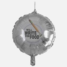 Write for Food Balloon