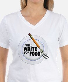 Write for Food Shirt