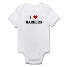 I Love ~BARBERS~ Infant Bodysuit