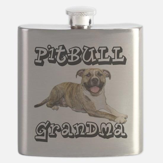 PitBullGrandma_Tigger Flask