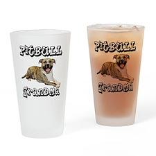 PitBullGrandma_Tigger Drinking Glass
