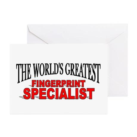 """The World's Greatest Fingerprint Specialist"" Gree"