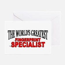 """The World's Greatest Fingerprint Specialist"" Gree"