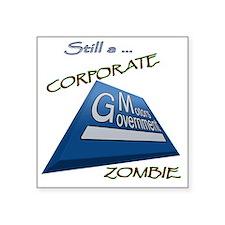 """GMZombie2.gif Square Sticker 3"""" x 3"""""""