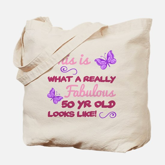 Cute 50th birthday queen Tote Bag