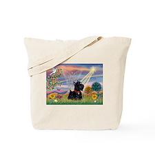 Cloud Angel & Scotty Tote Bag