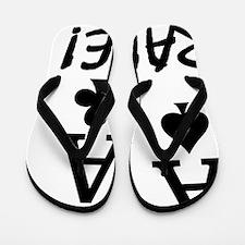 2-AA_RAISE_bl Flip Flops