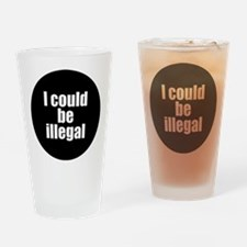 icouldbeillegal Drinking Glass