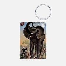 Vintage Circus Elephant Keychains