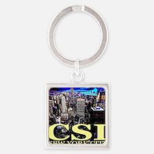 csi_newyorkcity Square Keychain