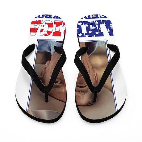 REAGAN-AMERICA Flip Flops