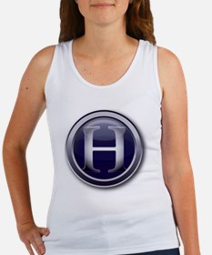 3-HD_GLASS BUTTON Women's Tank Top