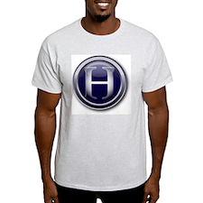 3-HD_GLASS BUTTON T-Shirt