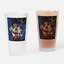 RockabillyWolf Drinking Glass