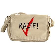 check_raise_bl Messenger Bag