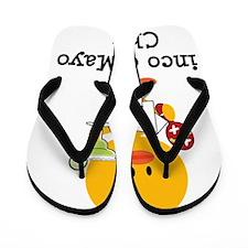 CincodeMayoChick Flip Flops
