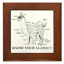 925746_10477594_llama_orig Framed Tile