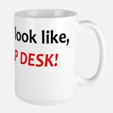 2-helpdesk_whtsrt Large Mug