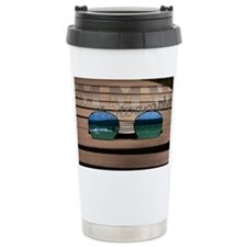 Surfer Sunglasses Travel Mug