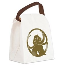 mammoth_vintage copy Canvas Lunch Bag