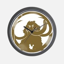 mammoth_vintage copy Wall Clock