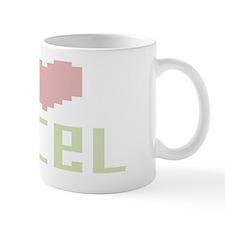 i heart excel Mug