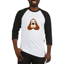 cocker dogpark white Baseball Jersey