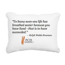 2-EmersonQuoteImage Rectangular Canvas Pillow