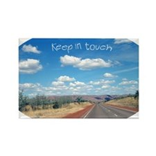 openroad_5x3oval_sticker Rectangle Magnet