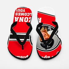 ArizonaWelcomesYou Flip Flops
