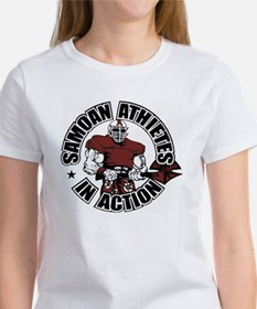 Samoan Atheletes In Action Women's T-Shirt