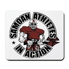 Samoan Atheletes In Action Mousepad
