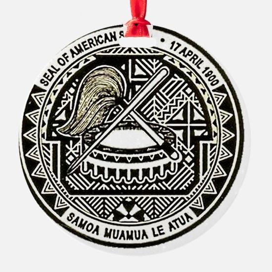 American Samoa Seal Ornament