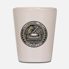 American Samoa Seal Shot Glass