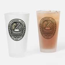 American Samoa Seal Drinking Glass