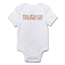 What would the Caveman do? Infant Bodysuit