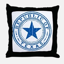 Republic of Texas Old state seal Throw Pillow