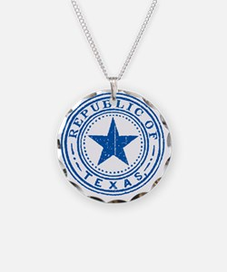 Republic of Texas Old state  Necklace