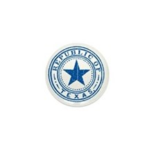 Republic of Texas Old state seal Mini Button