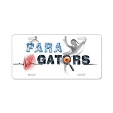 Paragators Ghost Master No  Aluminum License Plate