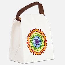 mandalaSolarPlexusShirt2 Canvas Lunch Bag