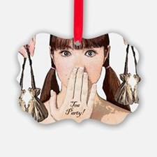 teapartyminiposter Ornament